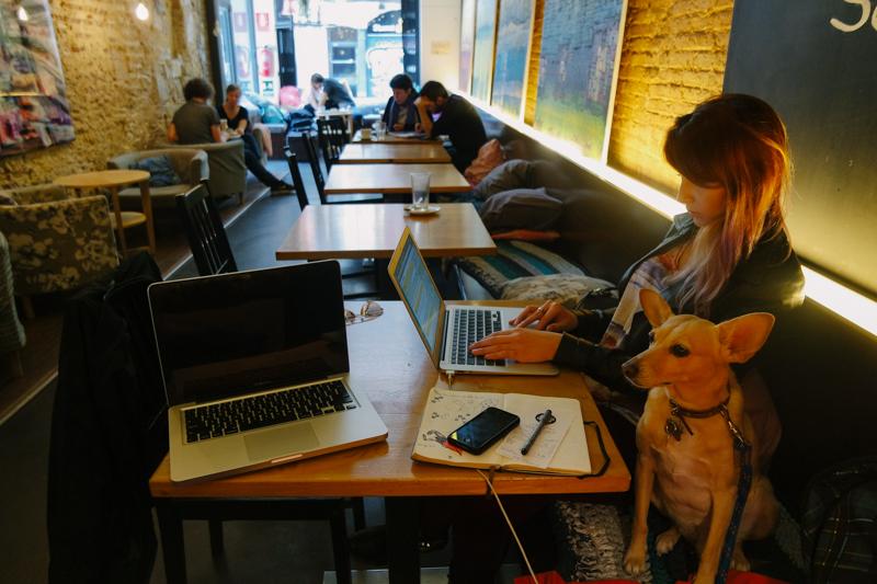 Cafés para trabalhar em Barcelona